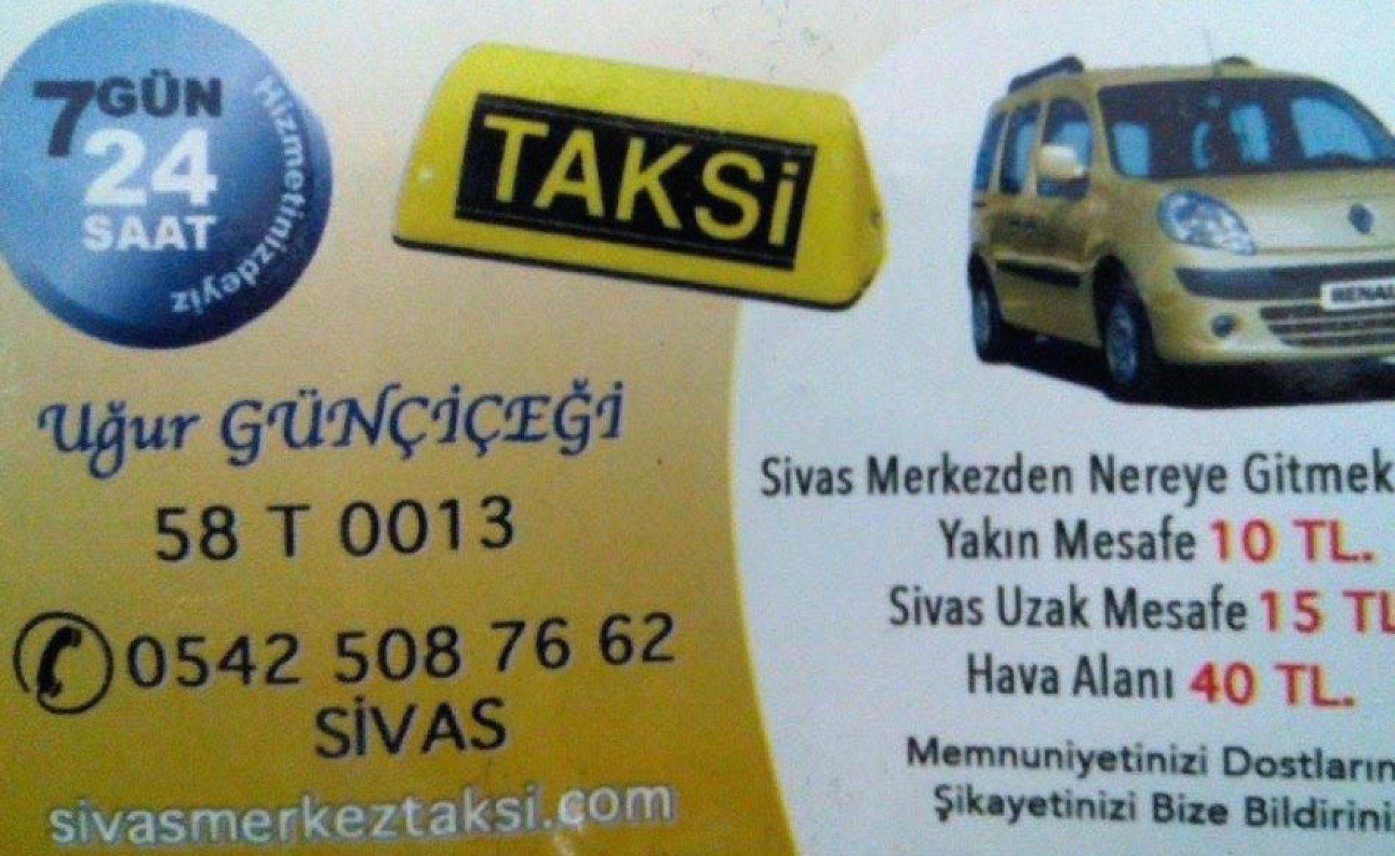 sivas taksi telefon 0542 508 76 62,sivas taksi,sivas merkez taksi